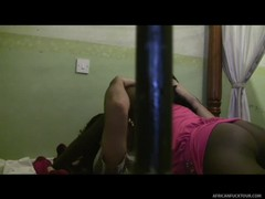 Slutty African girl swallows white dick Thumb