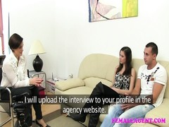 FemaleAgent Real couples passionate casting fuck Thumb
