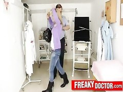 Super hot petite blonde teen Bella Anne at gyno clinic Thumb