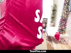 TeenPies - Santa Empties His Sack onto Rachel Rose! Thumb