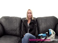 Great Ass Fucked & Creampie Surprise on Casting Couch Thumb