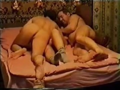 Two guys and lusty Russian hooker are having a perfect threesome Thumb