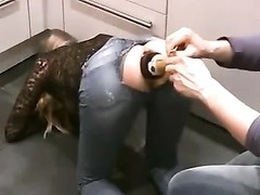 champange bottle up fisting anal Thumb