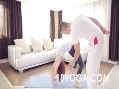 Yoga Teen Tina Hot Choked Slapped Creampie Ass To Mouth In Rough Anal Scene Thumb