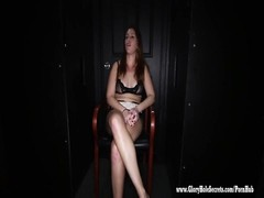 Gloryhole Secrets redhead swallows and gets creampies 1 Thumb