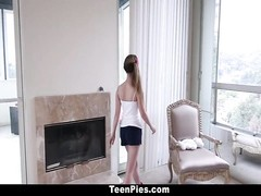 TeenPies - Tiny Marissa Mae Gets Cream-pied By Father In Law! Thumb