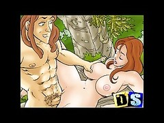 Cartoon mothers, housewifes and their cuckolds make porn Thumb