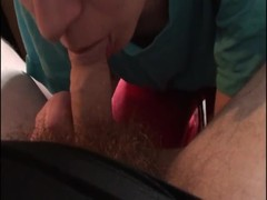 Amateur CFNM action with a fully-clothed Russian beauty Thumb