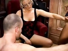 Hotwife wants hubby to suck on a cock Thumb