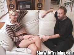 This Slut was sent to Dirty D for Training by her husband Brian to teach her the ways of true Slut W Thumb