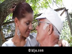 An old man fuck my girlfriend! Thumb