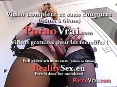 Mature anal Je me branle 3 folis par jour !!! French amateur Thumb