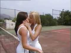 Playing tennis and having lesbian sex Thumb