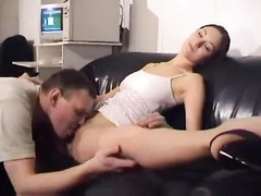 Wicked flexible girl fucked and bending Thumb