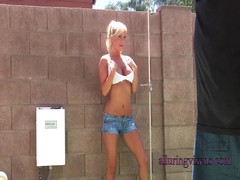 Juicy wet boobies of a blonde in the video provided by Alluring Vixens Thumb