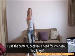 FakeAgent Fit Blonde amateur goes all the way in Casting Thumb