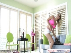Superb blonde housewife Natalia Starr take cock in POV Thumb