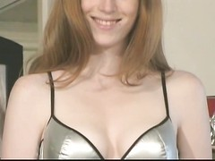 Sexy redhead removes hot underwear by jukebox Thumb