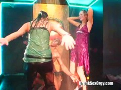 Drunk wet bitches are dancing like crazy in the club Thumb