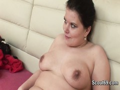German BBW Teen step-sister get fucked without condom Thumb