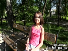 Cute teen daughters do crazy things for money Thumb