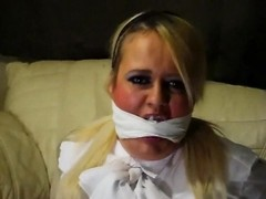 white Blouse Bondage Thumb