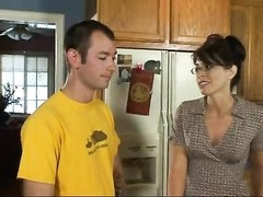 Wife in glasses fucked in the kitchen Thumb