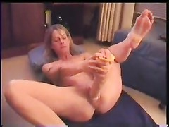 Wife likes huge toys in her hole Thumb