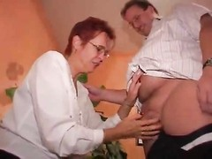 Mature wife in lingerie fucked by hubby Thumb