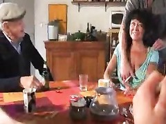 French housewife gangbanged hard and deep Thumb