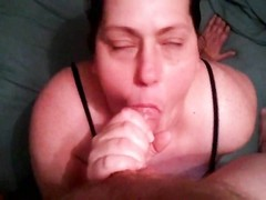 Playing with his fat ugly wife in lingerie Thumb