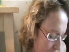 Mature housewife goes black in her kitchen Thumb