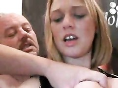 Wife in black boots gets gangbanged Thumb