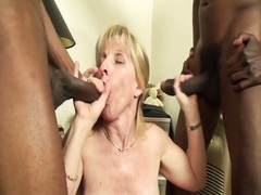 Carol Cox Fucks 2 Big Black Cocks Thumb