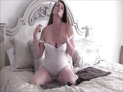 Horny Pregnant Milf Masturbates and Encourages You To Jerk Off For Her Thumb