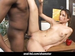 Tight girl Amber Rayne gets her ass pumped Thumb