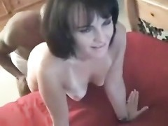 sexy amateur milf babe recorded on camera as she fucks lucky stranger s huge BBC for the first time! Thumb