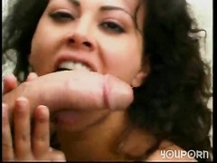 Busty latina fucks muscle dude outside - Shock Wave Thumb