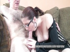 Cute coed Gianna in a black dress and getting dicked Thumb