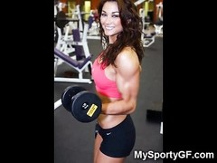 Muscular Athletic GFs! Thumb