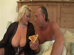 Blonde mature fuck boobs 2 Thumb