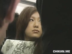 Businessgirl groped by Stranger in a crowded train Thumb