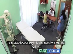 FakeHospital Foreign patient with no health insurance pays the pussy price for alternative treatment Thumb