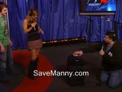 Carmen Electra Rides The Sybian For Howard Stern Thumb