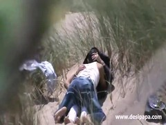 indian amateur couple outdoor Thumb