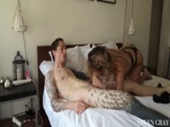 Hot Teen Rough Anal Sex Scene and Gaping Creampie Hime Marie Thumb