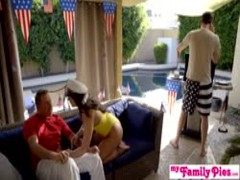July 4th Threesome With Teen Step Daughter And Hot BFF! S3:E3 Thumb