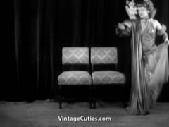 Sexy Girl Does a Puppet Dance (1950s Vintage) Thumb